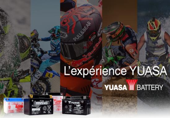L'expérience YUASA: nos marques déposées YTX®, YTZ®, GYZ®