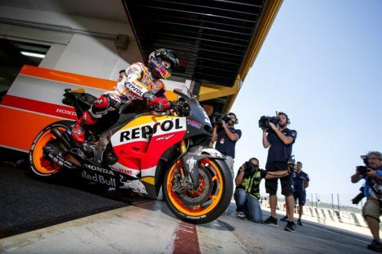 Pré-saison 2016 : premier week-end concluant pour l'équipe Honda Repsol