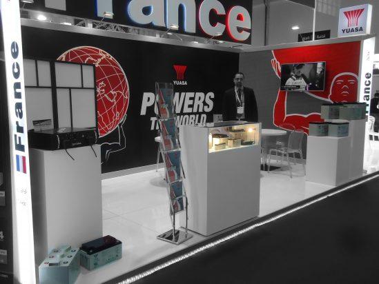 Participation de YUASA Batteries France au salon MEE en Mars 2016