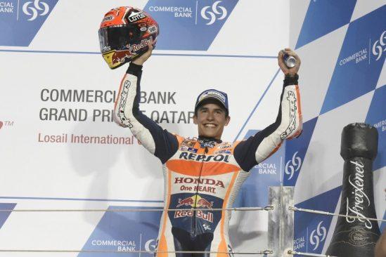 La saison MotoGP 2016 démarre et déjà une place sur le podium pour Marquez !