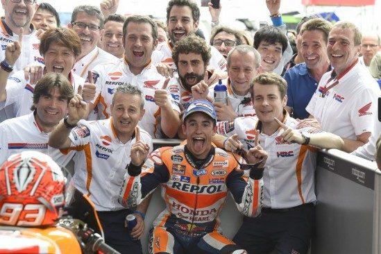 Une fantastique victoire pour Marquez, une montée sur le podium pour Pedrosa