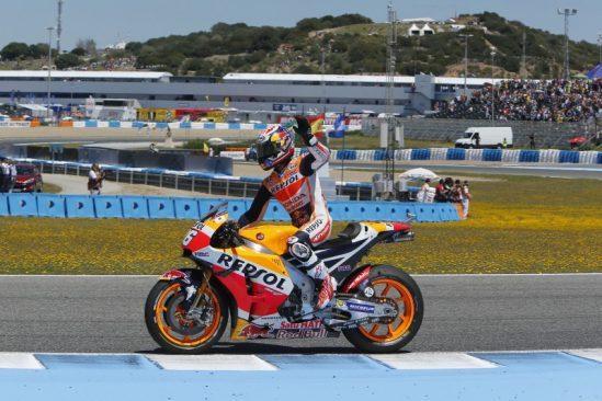 Une place sur le podium pour Marquez, une quatrième place pour Pedrosa
