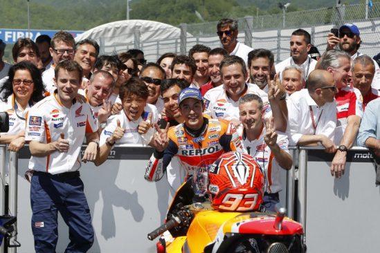 MotoGP Mugello: une seconde place magnifique pour Marquez, le podium raté de peu pour Pedrosa