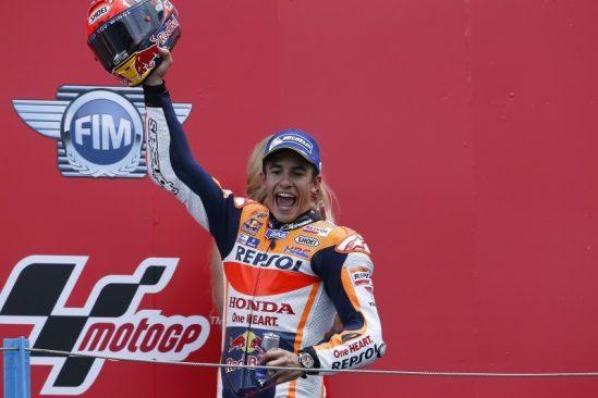 MotoGP d'Assen: une deuxième place magnifique pour Marquez