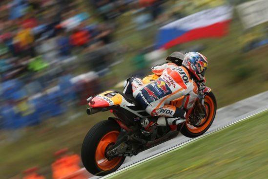 Marquez fait une montée cruciale sur le podium, Pedrosa termine 12ème