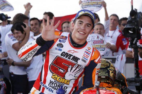 Face à face avec Marc Marquez, champion 2016 du motoGP !