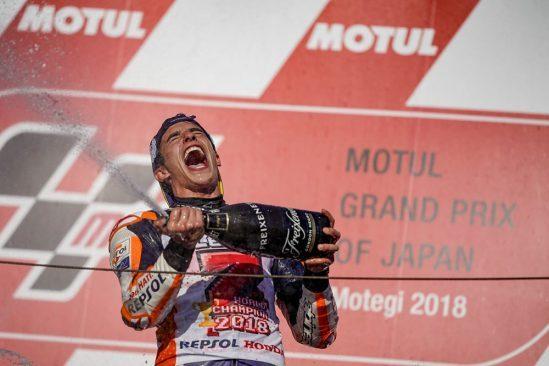 Marc Marquez : un cinquième titre consécutif et une nouvelle légende du sport moto !