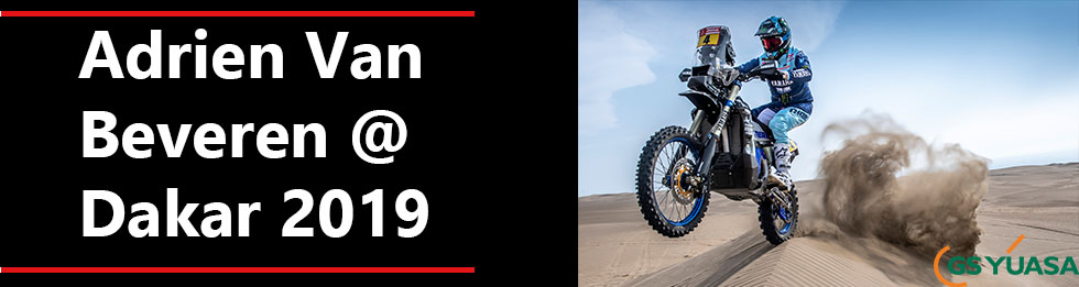 Adrien Van Beveren @Dakar 2019