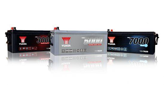 YUASA présente sa nouvelle gamme CARGO Super Heavy Duty