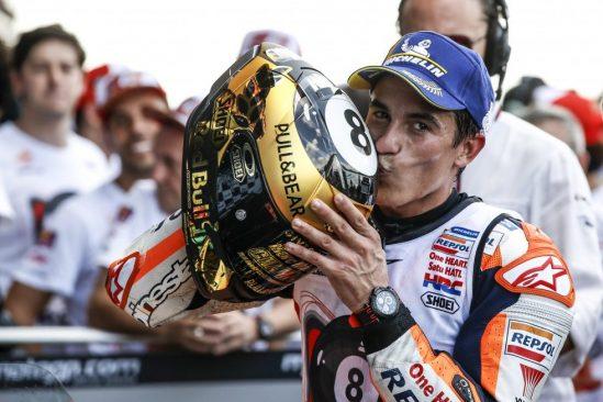 YUASA fête le 6ème titre de champion du monde motoGP de son pilote Marquez !