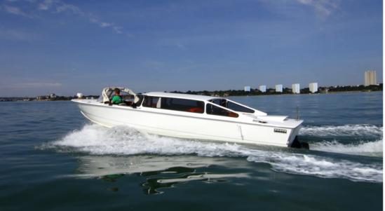 GS YUASA équipe un bateau taxi hybride vénitien de ses batteries lithium-ion