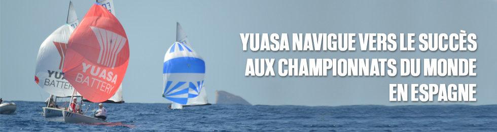 Yuasa navigue vers le succès aux championnats du monde en Espagne
