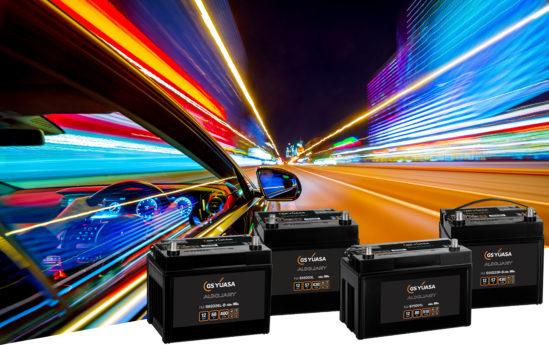 Une nouvelle gamme élargie de batteries auxiliaires automobiles GS Yuasa